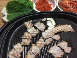 サムギョプサル焼肉画像