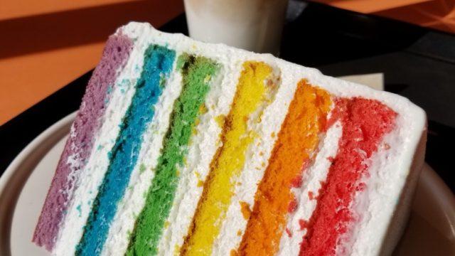 カロスキル レインボーケーキ画像