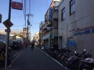 百済門左折道路画像