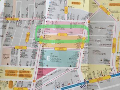 南大門市場寝具通り地図