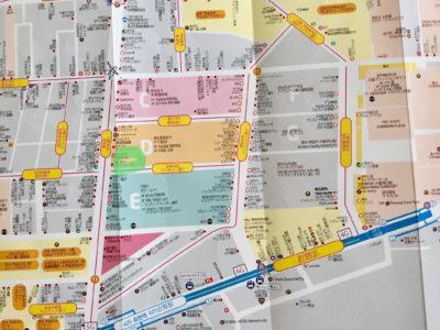イブル枕カバー紫店の地図