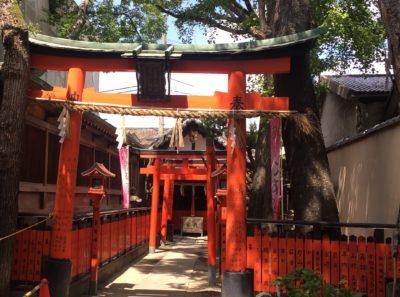 弥栄神社参拝