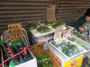 コリアンタウン露天野菜